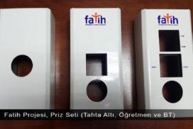Fatih Projesi, Priz Seti (Tahta Altı, Öğretmen ve BT)
